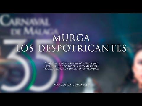 """Carnaval de Málaga 2015 - Murga """"Los despotricantes"""" Preliminares"""