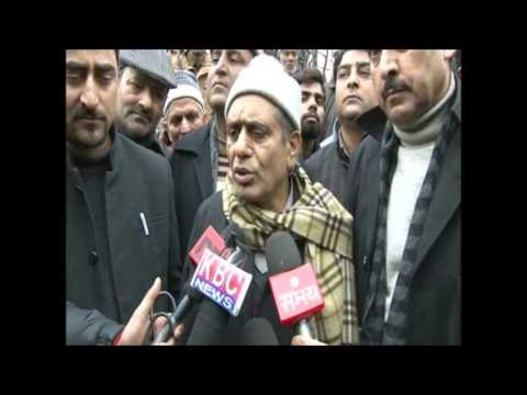 Mufti Mohammad Sayeed funeral