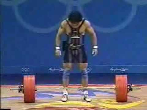 Sydney 2000 69kg Class Weightlifting - Clean and Jerk Image 1