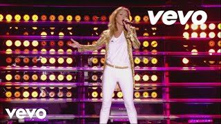 Клип Celine Dion - Loved Me Back To Life (live)