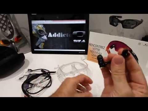 Présentation de la Oakley Radar PAce: lunette connectée avec coatch sportif intégré thumbnail