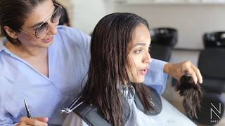 Download Lagu #AaminaSheikh's fabulous hair transformation by #NABILA Gratis STAFABAND