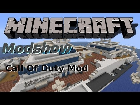 Minecraft Mods - Call of Duty Mod [Deutsch][HD]