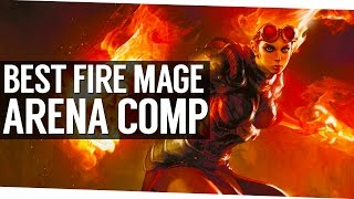 My Favorite Fire Mage Arena Comp - 7.1.5 World of Warcraft Legion