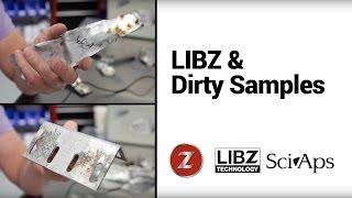 """Анализ """"грязных"""" образцов металла с помощью Laser-Z"""