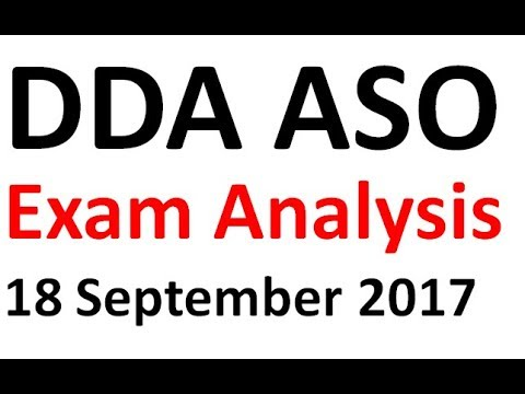 Download Lagu DDA Assistant Section Officer (ASO) Exam ANALYSIS 18 September 2017+ QUESTIONS ASKED + REVIEW MP3 Free