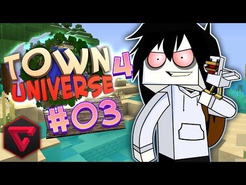 TOWN UNIVERSE 4: ¡EL ATAQUE DE LOS TROLLS! #3 (MINECRAFT SERIE DE MODS)