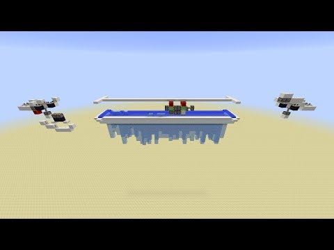 Minecraft: Ice Farm with Flying Machine [1.8]