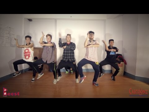 Jaalma (resham Filili)   Dance By The Cartoonz Crew (hip-hop b-boying) video