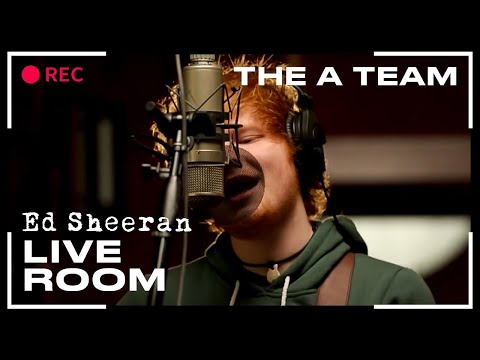 """Ed Sheeran - """"The A Team"""" captured in The Live Room"""