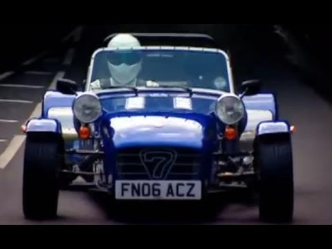 DIY Caterham vs The Stig - BBC