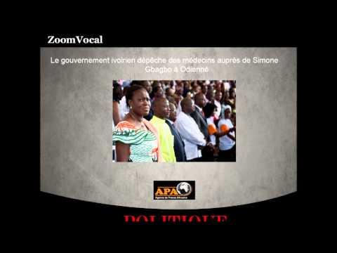 Le gouvernement ivoirien dépêche des médecins auprès de Simone Gbagbo à Odienné (Côte d'Ivoire)