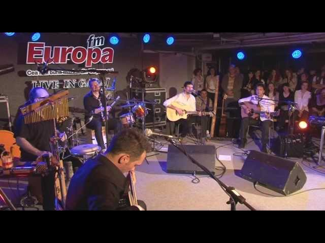 Vama Acoustic - Fata in boxeri si in tricoul alb LIVE in Garajul Europa FM