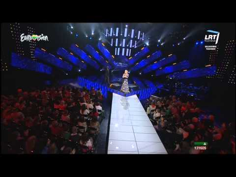 Eurovision 2014 Lithuania  Mia Atliko Muzikinį Kūrinį take A Look At Me Now video