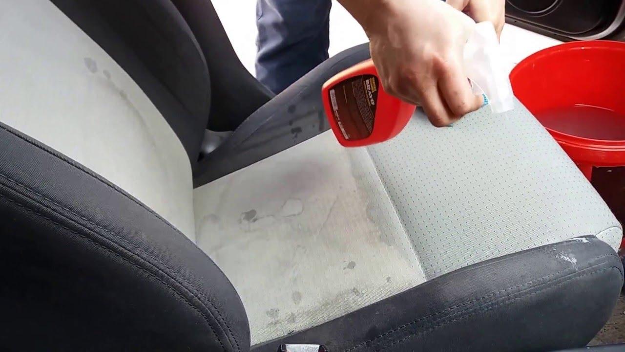 Чем очистить сиденья автомобиля от пятен в домашних условиях 486