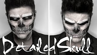 Lady Gaga Skull Makeup | Halloween Tutorial | Alex Faction