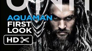 Aquaman - Poster First Look (2018) Jason Momoa Movie HD
