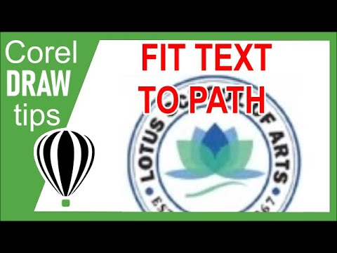 Fit Text to Path in CorelDraw