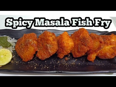 Spicy Masala Fish Fry-Easy and Tasty Fish Fry Recipe-Homemade Crispy Fried Fish-Harjeet Ki Rasoi