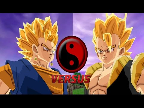 Combate De Fusiones - Vegetto Vs Gogeta Mod Historia Dragon Ball Z Budokai Tenkaichi 3 video