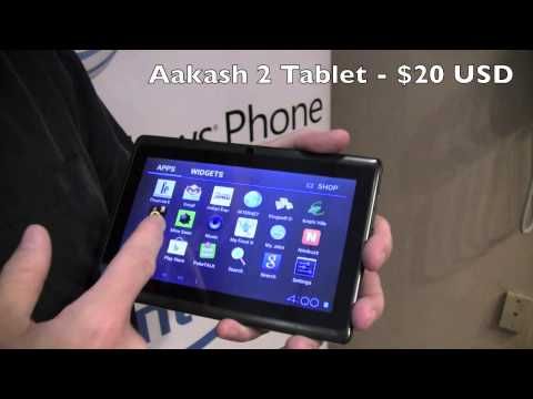 Aakash 2 Tablet Demo