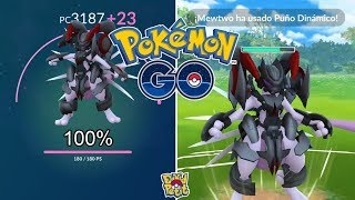SUBIENDO MEWTWO ACORAZADO 100% AL MÁXIMO! ¿VALE LA PENA? [Pokémon GO-davidpetit]