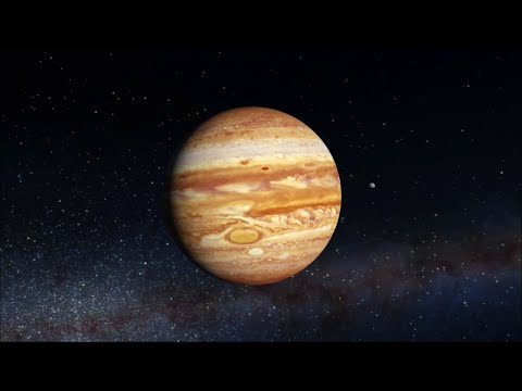 Самая большая планета Солнечной системы - Юпитер
