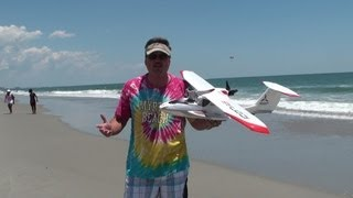 Icon A5 Flight over Myrtle Beach GoPro Hero HD2 Style With Aerobatics!