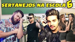 Sertanejos NA ESCOLA 6 (Henrique e Juliano,Luan Santana,Gustavo Lima,Maiara e Maraisa...)