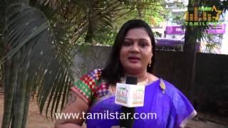Sindhu At Kamar Kattu Team Interview