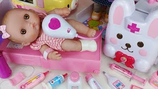 Baby Doll doctor and Hospital toys Ambulance car play - 토이몽