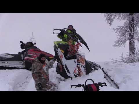 Открытие снегоход сезона 2017 Ямал сломался BRP summit GA 11182017 Салехард