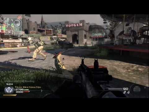 MW2 Commentary - Carnival TDM with SCAR-H Extended Mags Video