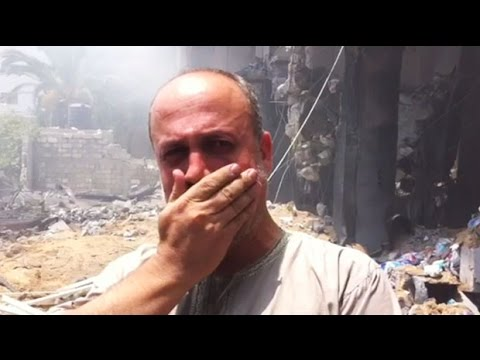 Gaza family: we are on the street with no where to go