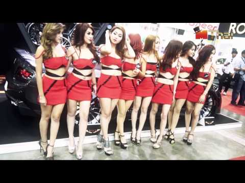 Pretty Bangkok International Auto Salon 2013