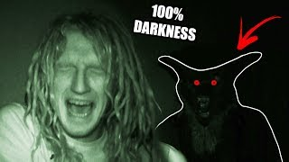 24 Hours In 100% Darkness GONE WRONG | Challenge