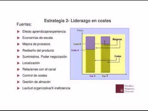 DIRECCIÓN ESTRATÉGICA: Análisis de distintas estrategias empresariales