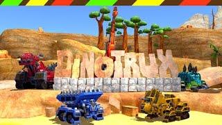 DINOTRUX: Trux It Up! - Game robot Khủng Long biến hình Xe xây dựng công trình 4