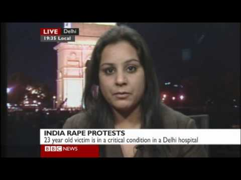 India Rape - Assault Victim Intv - Bbc World News video