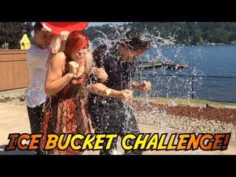 ICE BUCKET CHALLENGE : Sky's ALS ICE Bucket Butter Challenge!