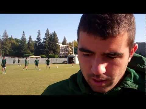 Adam Bettencourt on playing soccer with cousin Chris