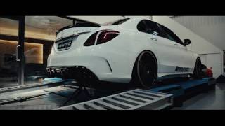 Mercedes C450 / C43 AMG (W205) | Armytrix ECU Remapping & Valvetronic Exhaust | Brabus Spoiler