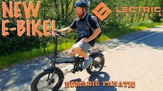 I Got An Electric Bicycle!! E-Bike Time!!!