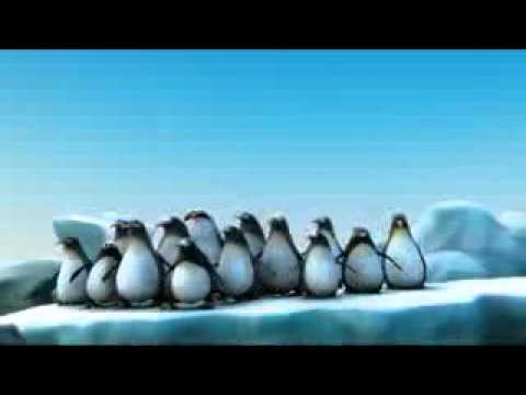 Funny animation about intelligent penguins