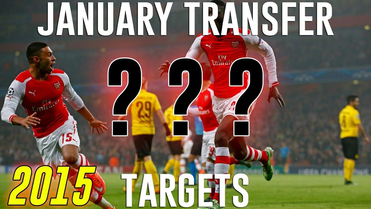 arsenal january transfer 2015