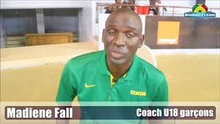 Eliminatoires Afrobasket - Le coach Madiene Fall revient sur la première journée du stage de U18