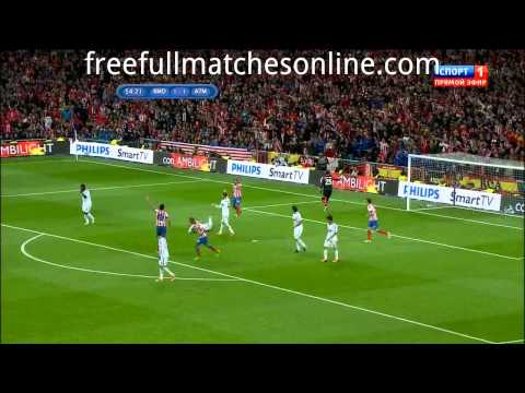 Real Madrid Vs Atletico Madrid Full Match final Copa del Rey 17/05/2013 HD