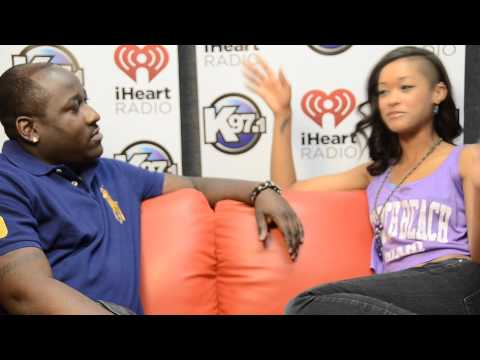 Skin Diamond in Memphis interviews with DJ MIC TEE