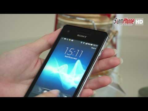 [HD] รีวิวมือถือ Sony Xperia V Review [TH-SUB]