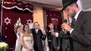 chupa wedding sung by rabbi gad zerbib tel aviv